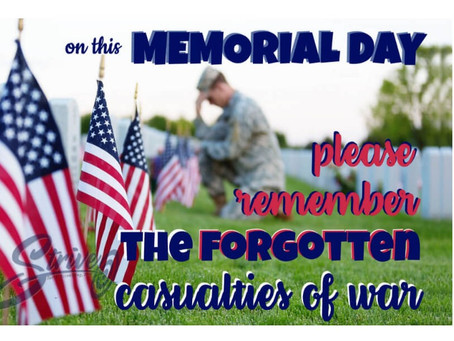 MEMORIAL DAY: The casualties of war often forgotten