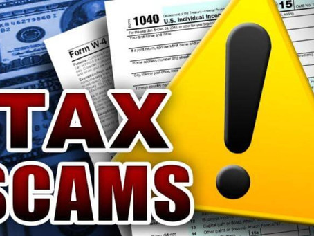WARNING!! IRS TAX SCAM LETTER!!