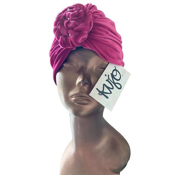 Kujo Velvet Turban Hat