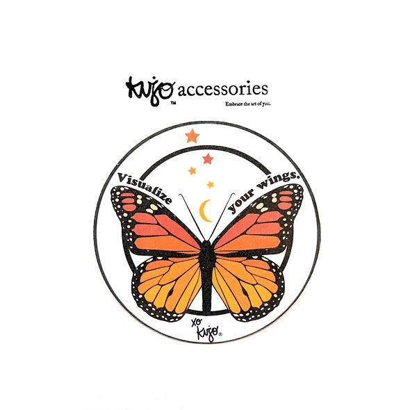 Kujo Butterfly Sticker