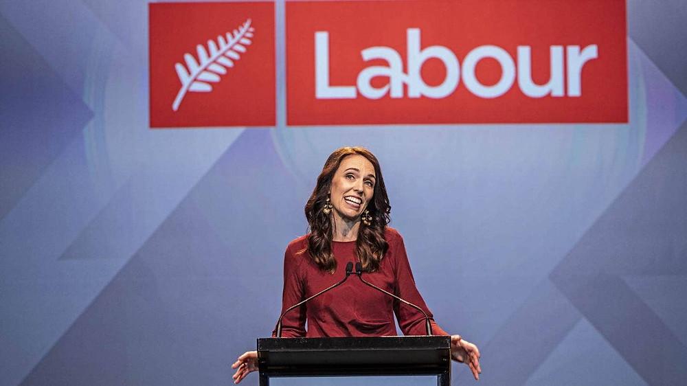 Labour Jacinda Ardern