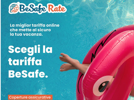 Vacanze sicure con BeSafe Rate!