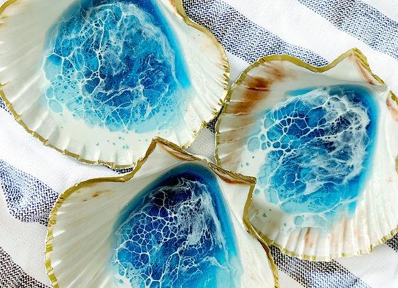 Scallop Shell Ring Dish
