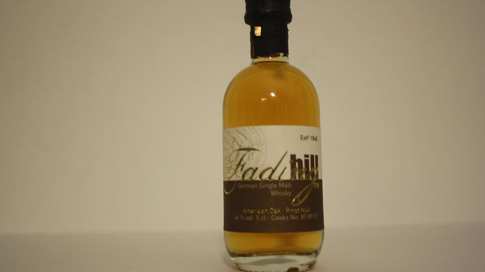 Birkenhof Fading Hill Whisky Miniatur Vorderansicht