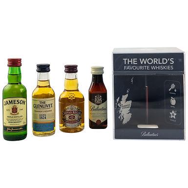 Worlds Favourite Whiskies Miniaturen