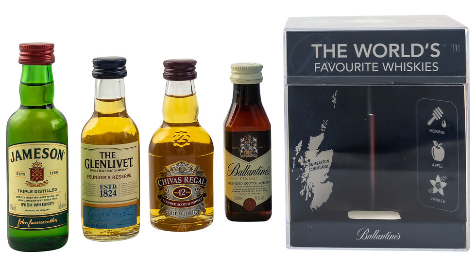 Worlds Favourite Whiskies Miniaturen Ansicht Vorne