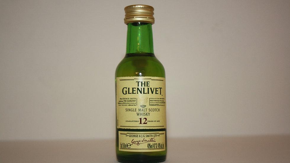 Glenlivet 12 Jahre Miniatur