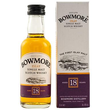 Bowmore 18 Jahre Miniatur