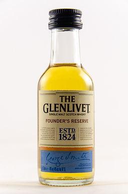 Glenlivet Founders Reserve Miniatur