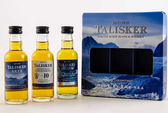 Talisker Collection: Made by the Sea Miniaturen