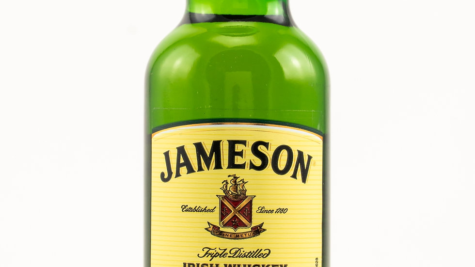 Jameson Irish Whiskey Miniatur Vorderansicht