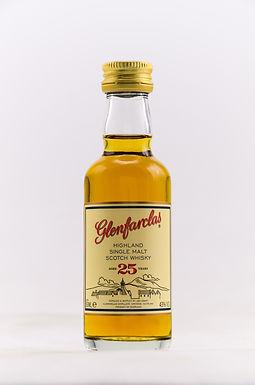 Glenfarclas 25 Jahre Miniatur