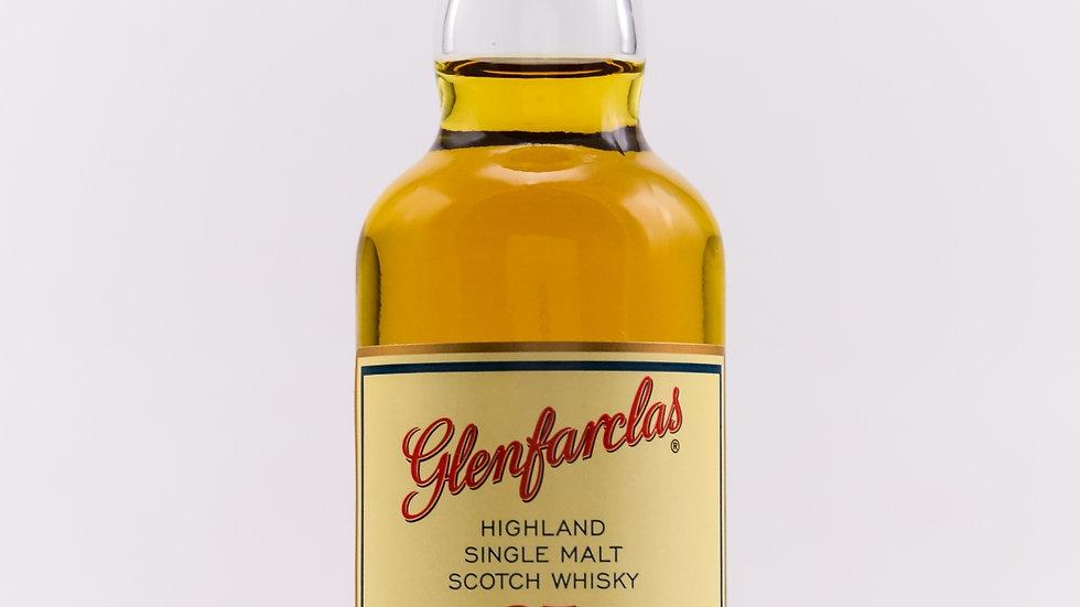 Glenfarclas 25 Jahre Miniatur Vorderansicht
