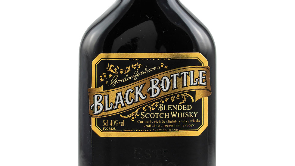 Black Bottle Whisky Miniatur