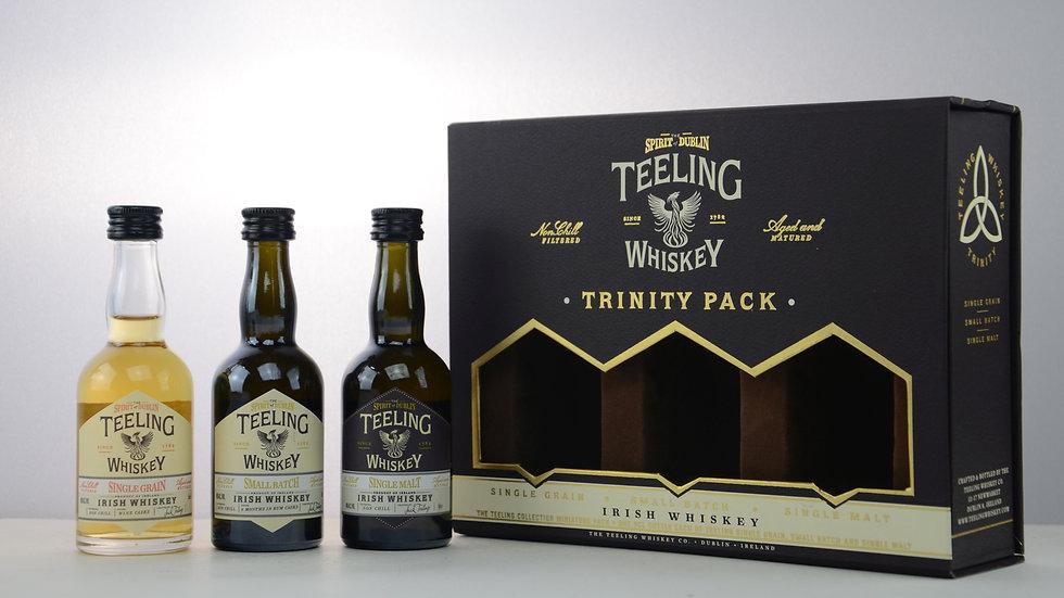 Teeling Trinity Pack Miniaturen Vorderansicht