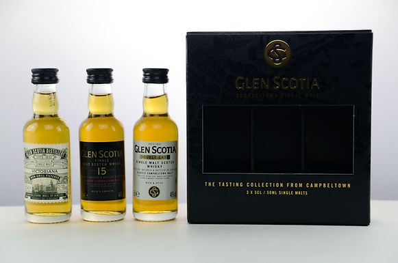 Glen Scotia Tripack Miniaturen
