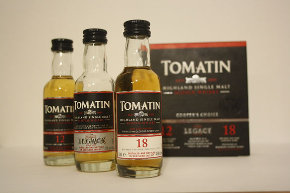 Tomatin Coopers Choice Triple Miniaturen
