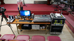 교회 음향 시스템 프리셋 및 교육