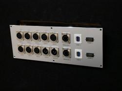 XLR, Ethernet, USB3.0, HDMI