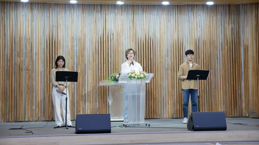 남서울은혜교회 샬롬부 찬양 녹음, 믹스