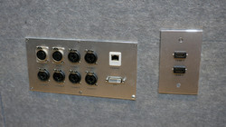 XLR, COMBO, Ethernet, DVI, HDMI