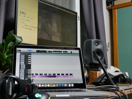 웹뮤지컬 <곰팡이,균> 후시녹음, 영상 사운드 믹스, 마스터링_210203
