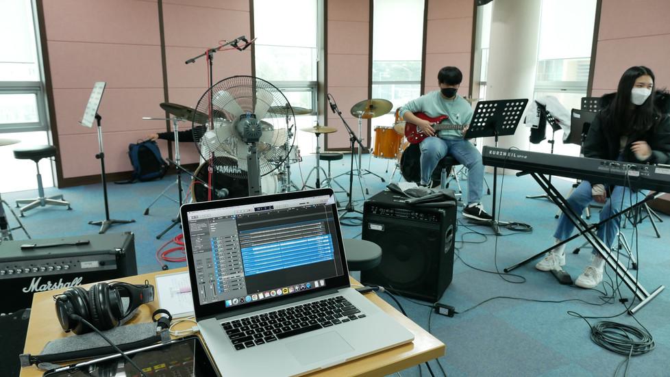 과천 청소년수련관 홍보영상 음원 녹음