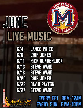 Montana's Bar & Grill June Calendar copy