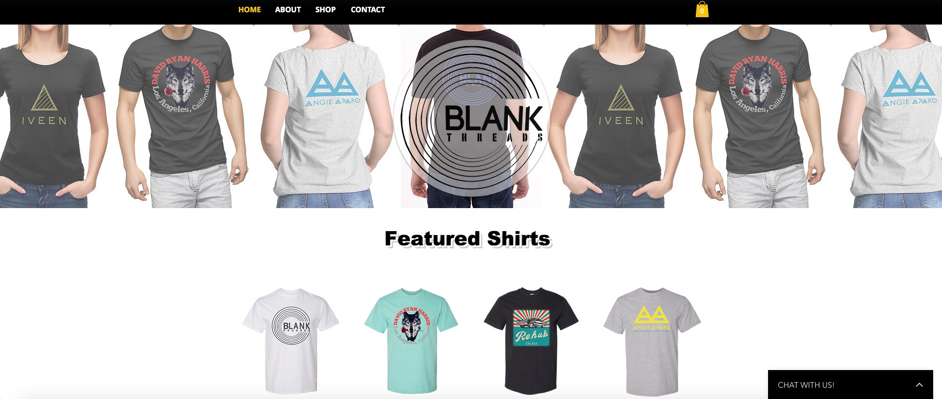 Shop Blank Threads