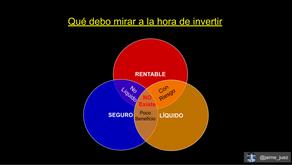 QUÉ DEBO MIRAR A LA HORA DE INVERTIR