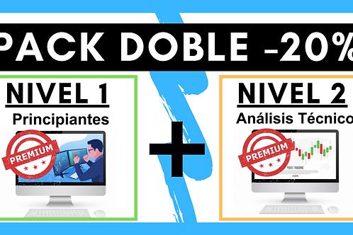 PACK DOBLE: Nivel 1 + Nivel 2