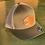 Thumbnail: MotoJet Leather Patch Hat   Green/Khaki