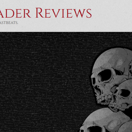 The Grim Reader Has Me in For Some Writer-ing Questions