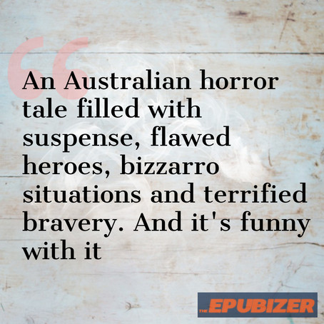 The Epubizer reviews The Town ... suspense, flawed heroes, bizzarro situations and terrified bravery