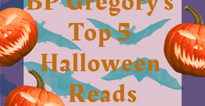 BP Gregory's Top 5 Halloween Reads 2020