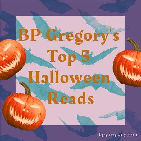 BP Gregory's Top 5 Halloween Reads 2020