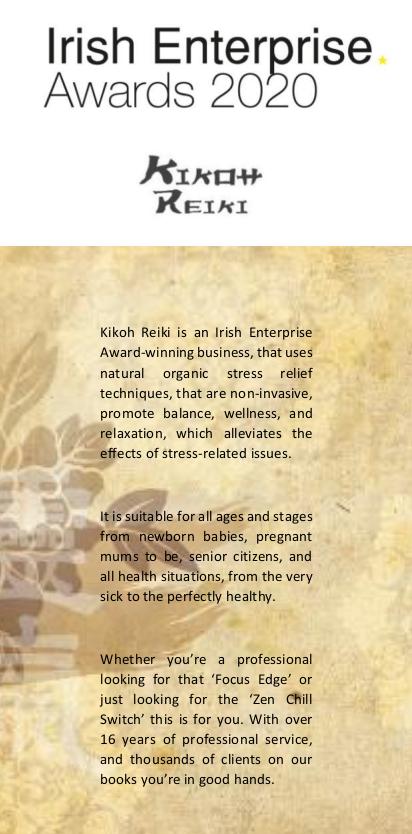 Irish Enterprise Award Flyer