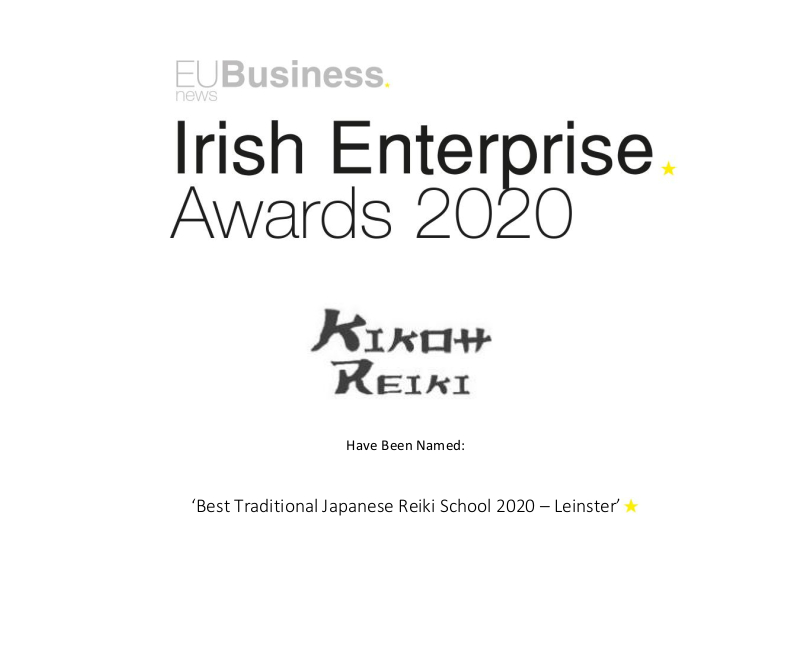Irish Enterprise Award Winner
