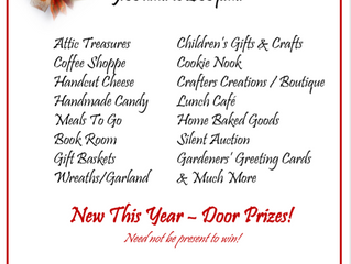 All Souls Annual Bazaar | November 16