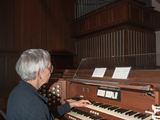 The Organ CD:                                        From Inspiration to Creation