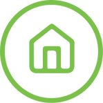 Graphic Icon of a House