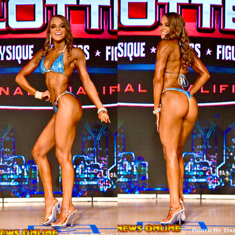 Stage Picture of Bikini Client Holly D.