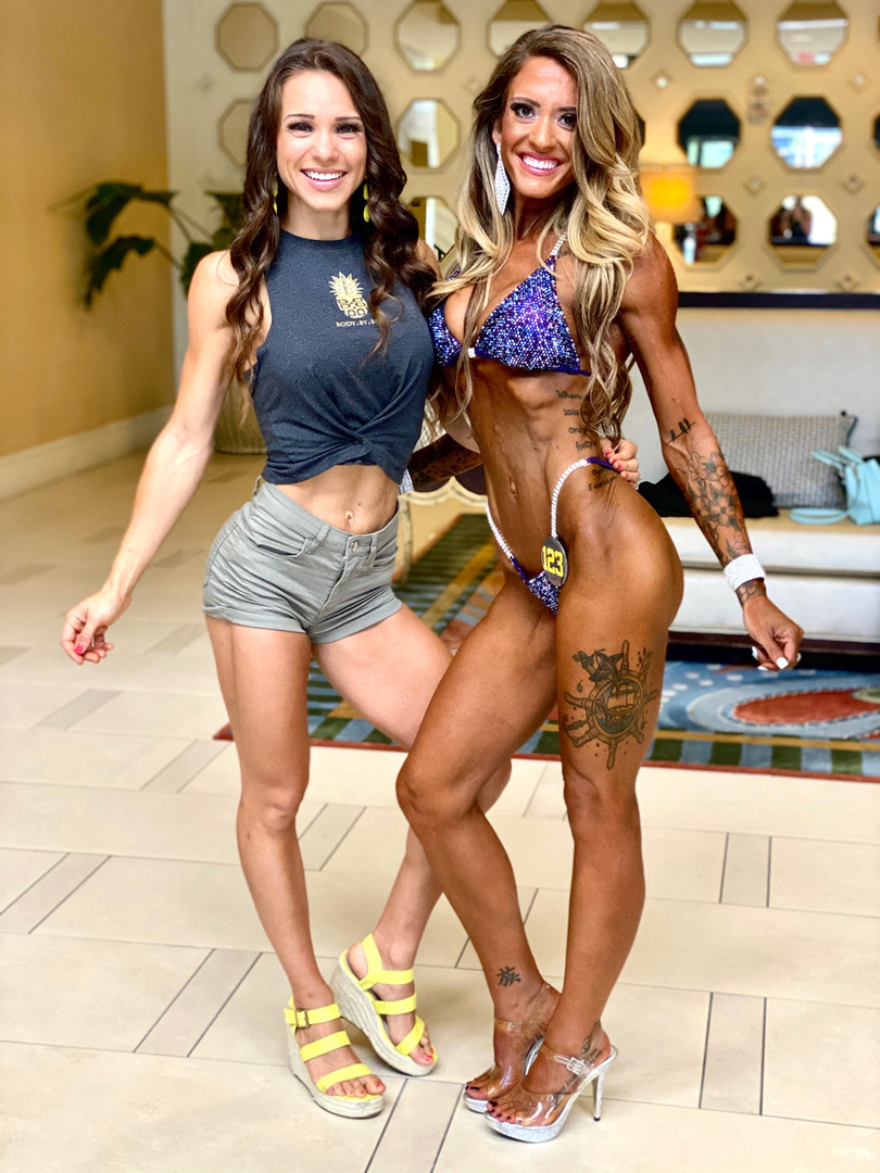 Client Jamee and Coach Bianka