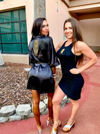 Bikini Client Tiana B. with Coach Bianka