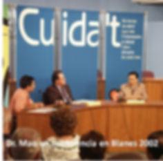 Dr Mao en conferencia en Blanes 2002.jpg