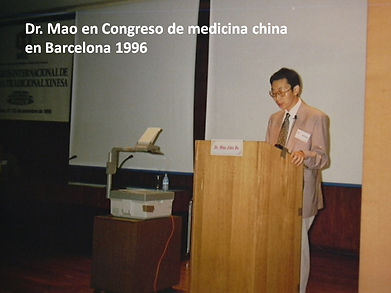 Dr Mao en congreso de medicina china en
