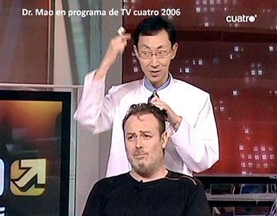 Dr Mao en programa de TV cuatro 2006.jpg