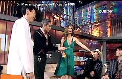 Dr Mao en programa TV cuatro 2006.jpg