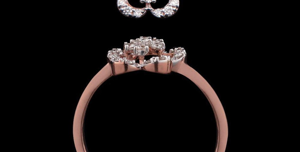 Inaya Valentine Floral Ring