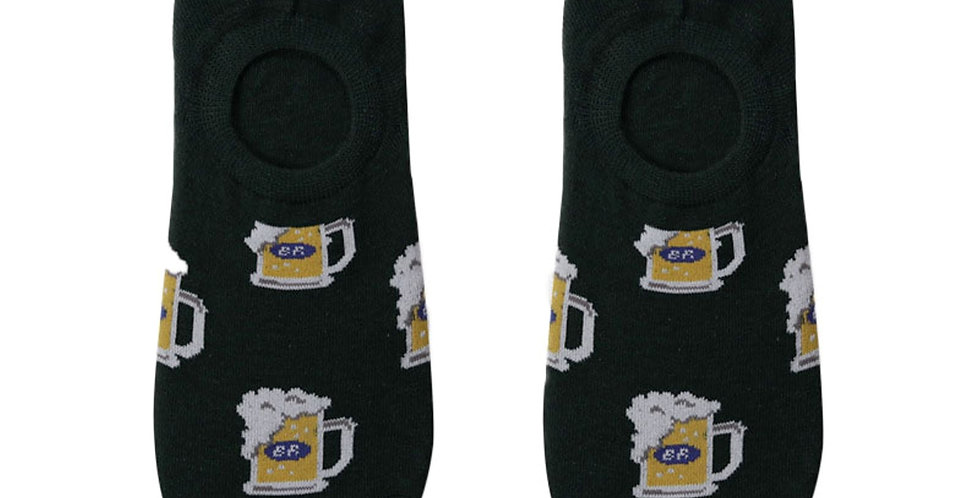 Beer Splash Loafer Sock